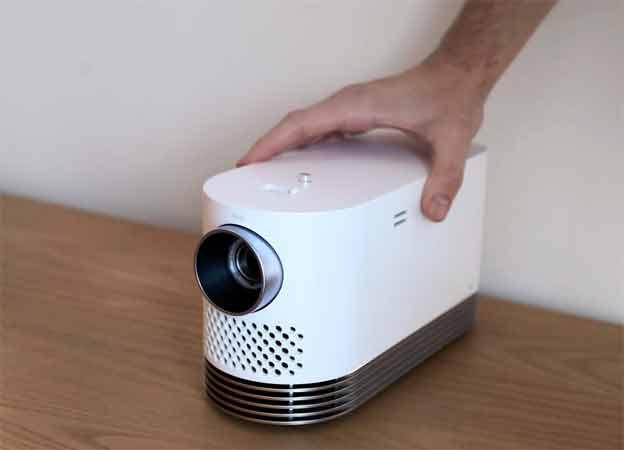 LG projektor