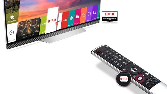 Netflix integrisan na LG UHD TV