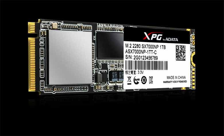 XPG SX7000 PCI Express 3.0 x4 M.2 2280 SSD
