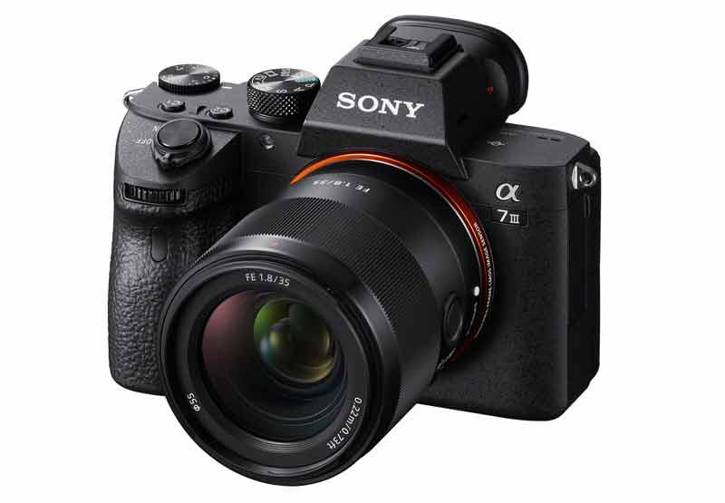 Sony 35mm F1.8 Prime objektiv