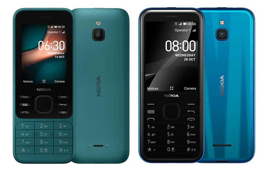 Nokia 8000 4G - Nokia 6300 4G