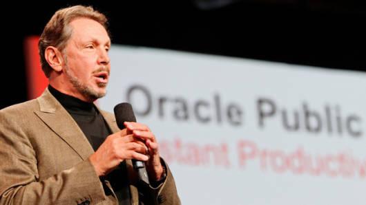Oracle CEO Larry Ellison PR photo
