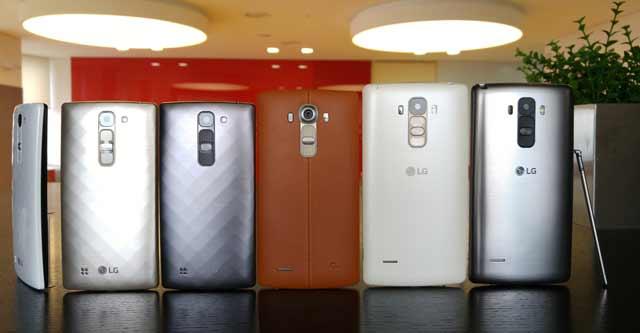 LG G4c, LG-G4 i LG G4 Stylus smart telefoni