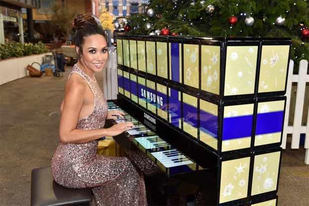Samsung tablet klavir