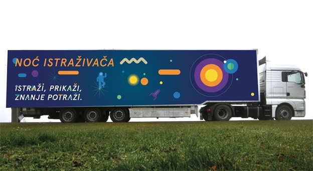 Naučni kamion na putu po Srbiji