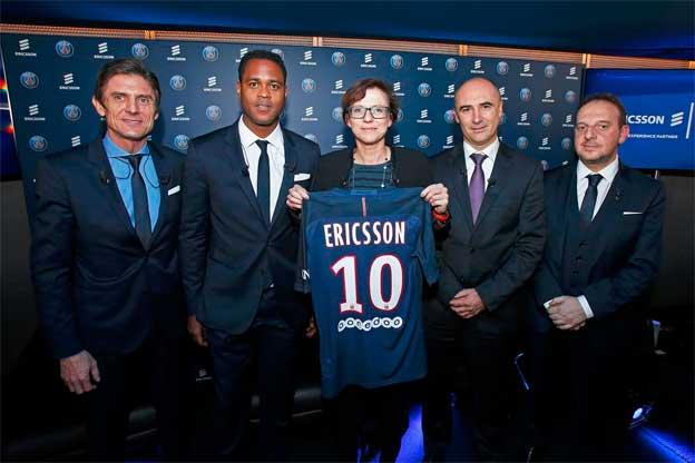 Partnerstvo kompanije Ericsson i kluba Pari Sen-Žermen