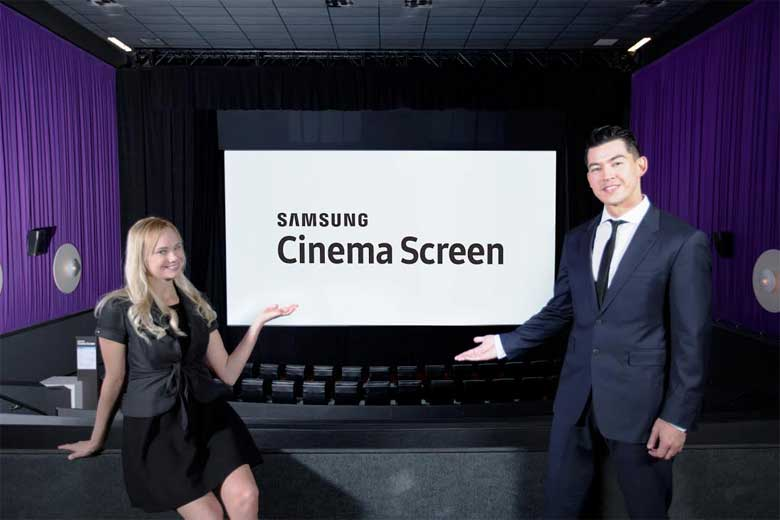 Samsung Cinema Screen
