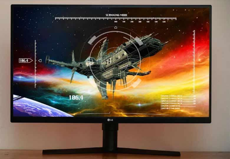 LG gaming monitori