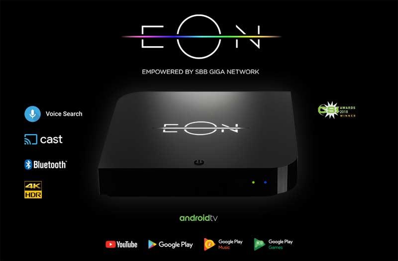 SBB EON platforma i Smart box