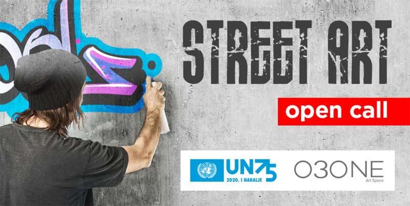 nagradni konkurs za muraliste i ulične umetnike povodom 75. godišnjice UN