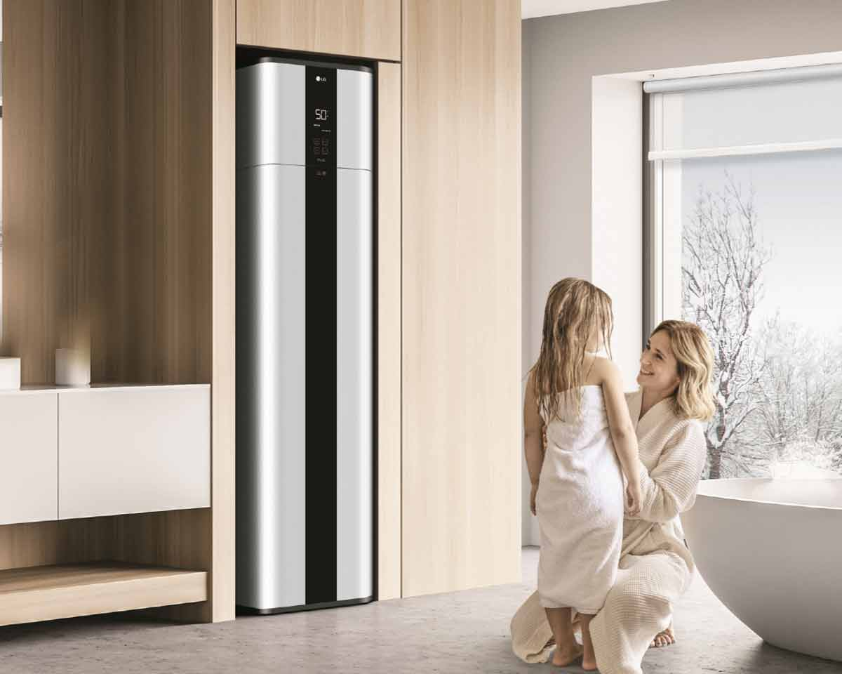 LG bojler je efikasan, ekološki praktičan i višestruko nagrađivan za dizajn