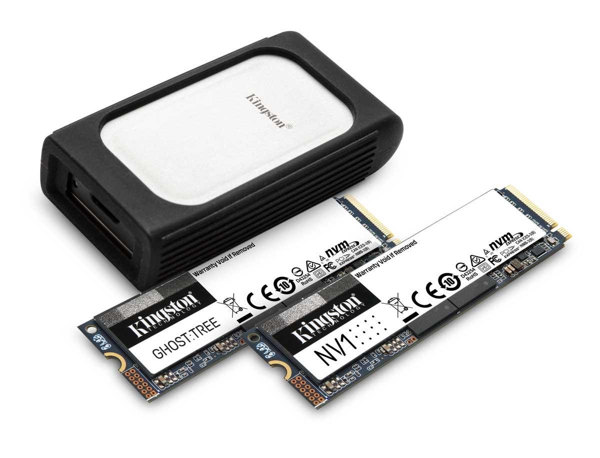 CES 2021 SSD Kingston