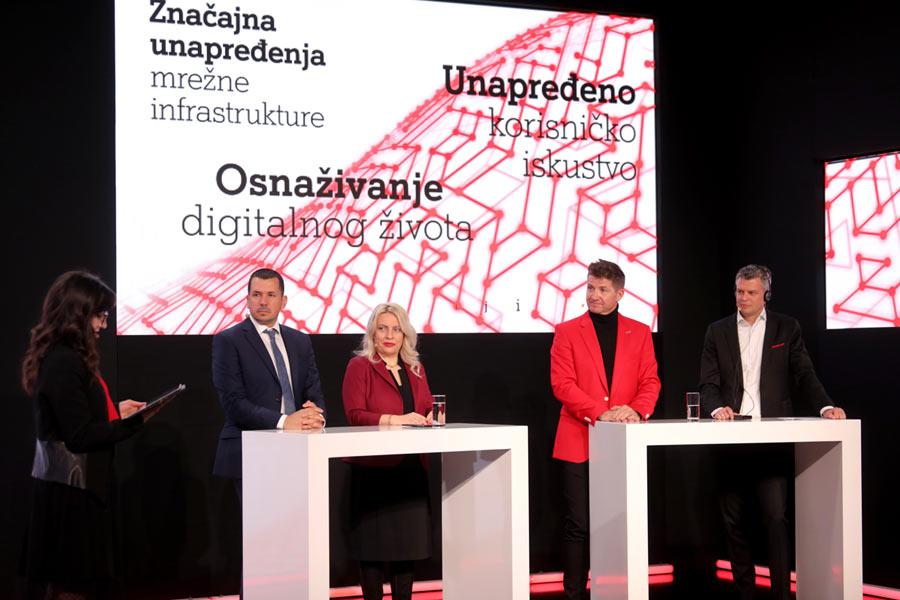 Predstavljanje mreže A1 Srbija